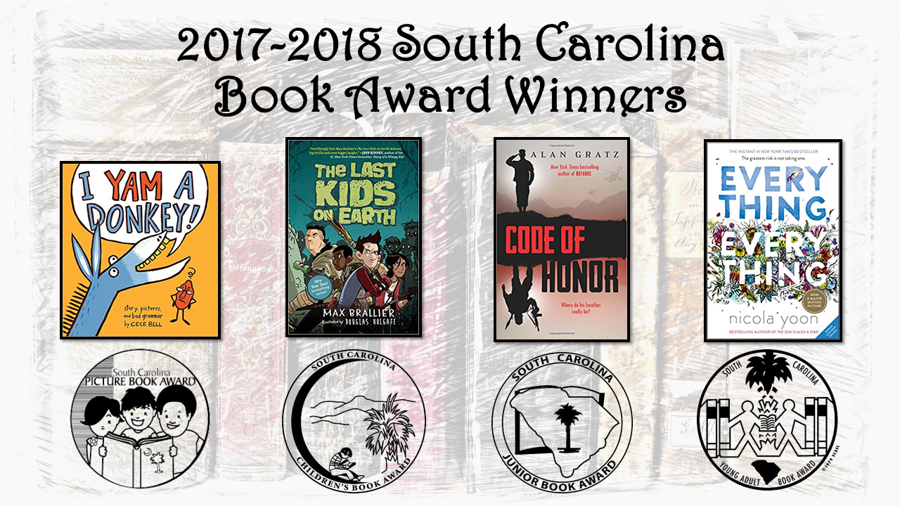 2017-2018 book awards