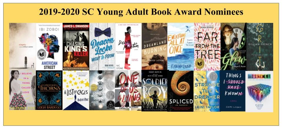 Best Ya Books Of 2020 Young Adult Book Award